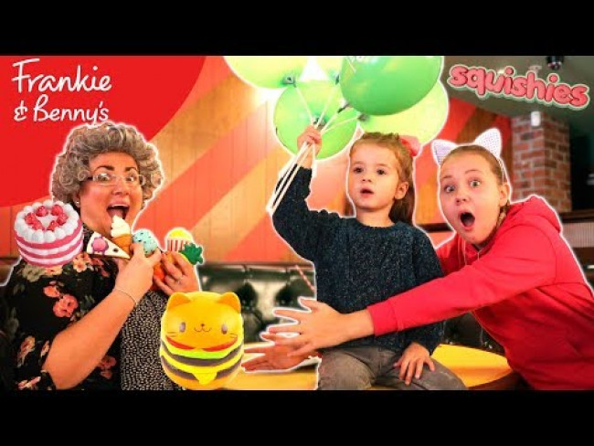 GRANNY TRICKED US!! Kids Surprise Dinner SQUISHY TOY JOKE!!