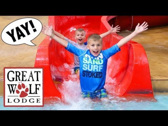 Great Wolf Lodge Indoor Waterpark Playground Texas