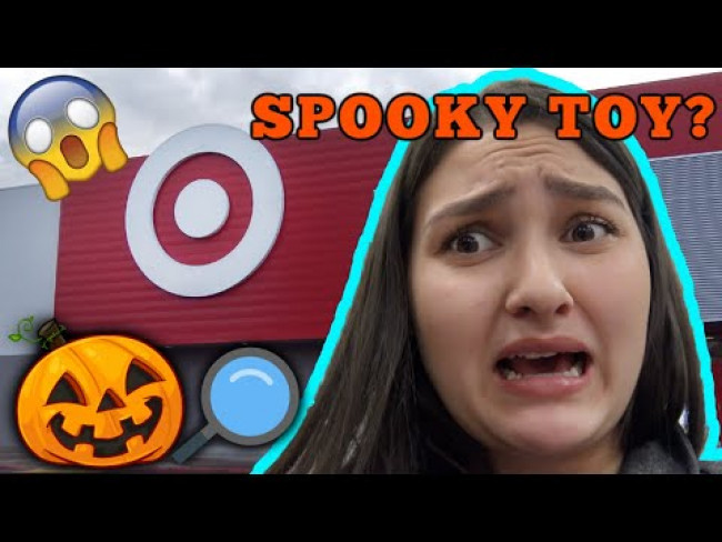 HALLOWEEN TOY SEARCH! SPOOKY TOY at TARGET. HALLOWEEN SKIT! The TOYTASTIC Sisters. FUNNY SKIT.