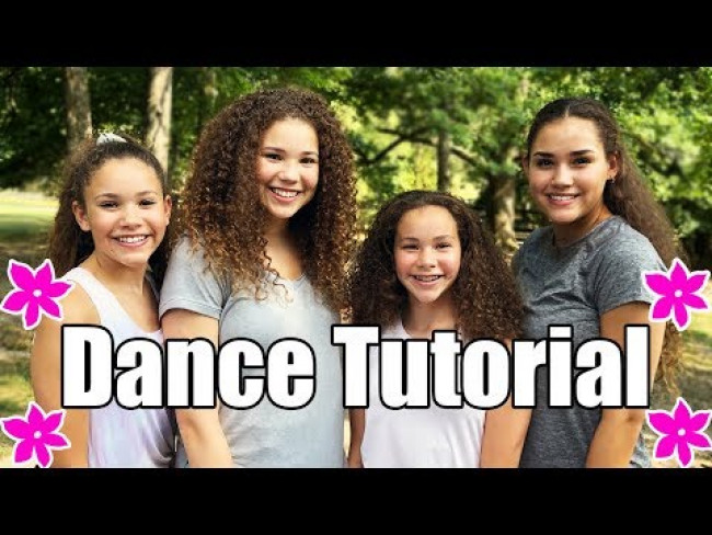 Haschak Sisters - Anything You Can Do I Can Do Better (Dance Tutorial)