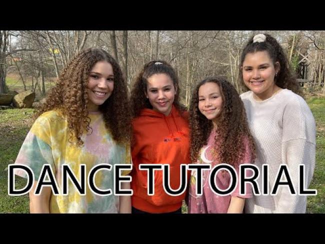 Haschak Sisters - Brighter (Dance Tutorial)