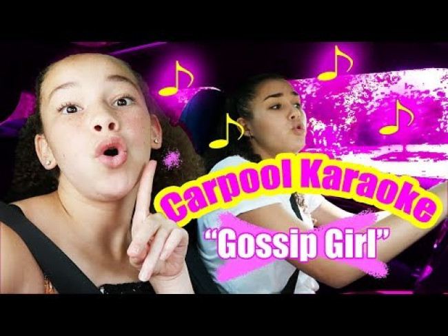 Haschak Sisters - Gossip Girl (Carpool Karaoke)
