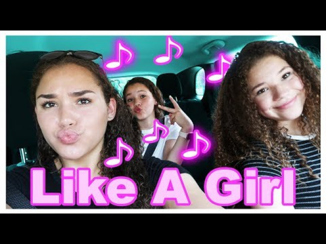 Haschak Sisters - Like A Girl (Carpool Karaoke)