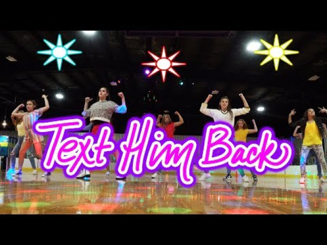 Haschak Sisters - Text Him Back (Dance Tutorial)