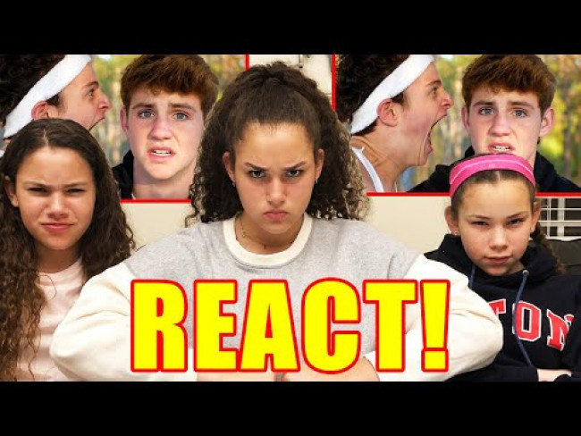 "Haschak Sisters REACT to ""Heroes"" by MattyBRaps"