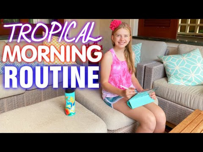 Hawaii Weekend Morning Routine