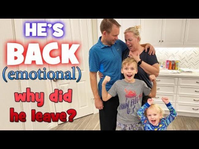 He Came Back!! Emotional Reunion!