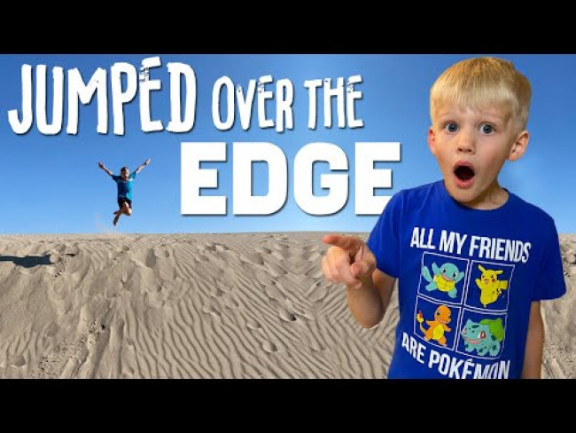 He Jumped Too Far! || Mommy Monday