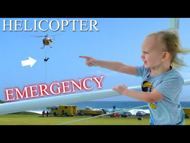 Helicopter Rescue & Submarine Ride || Mommy Monday