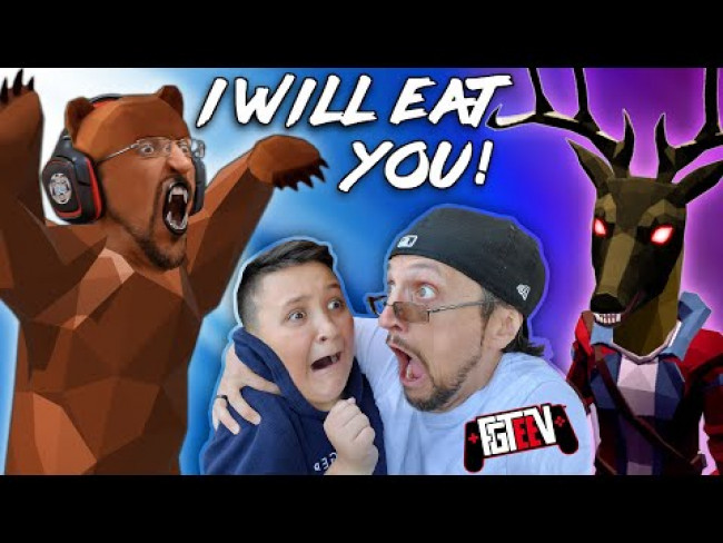Hide & Seek: Savage BEAR Edition! I WILL EAT YOU! (FGTeeV Boys Multiplayer Game)