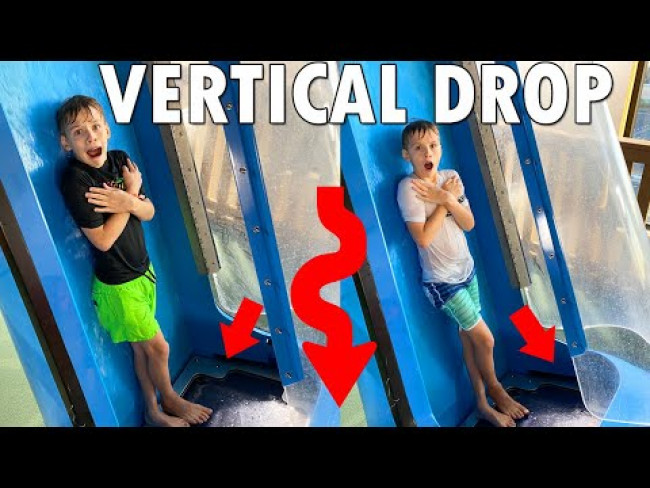 Horrifying Drop Slide!!