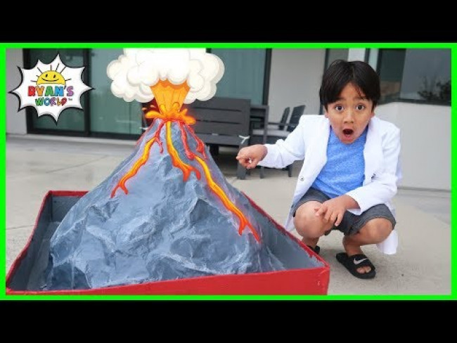 How to make a Volcano DIY Science Experiment!!!