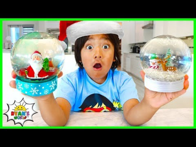 How to Make DIY Snow Globe for the Holiday!!!!!