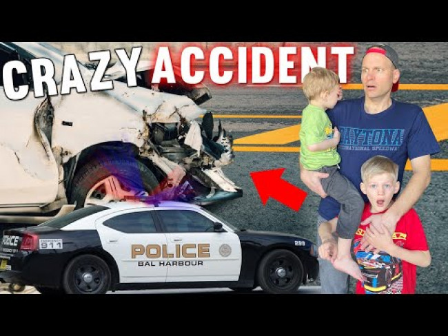 HUGE Car Accident!
