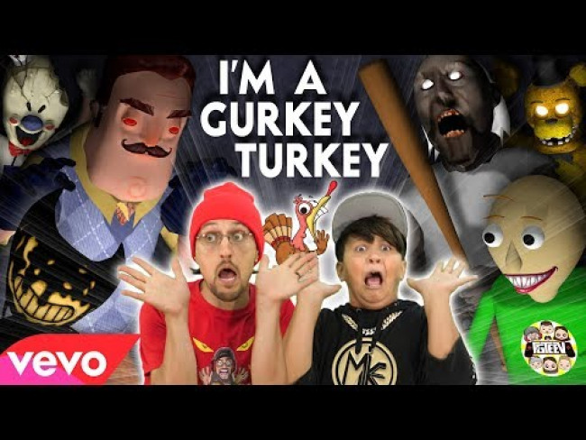 I'M A GURKEY TURKEY  (FGTeeV Official Music Video)