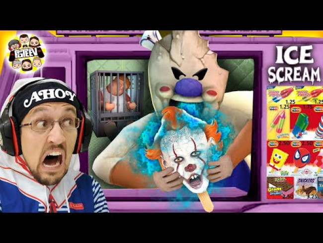 ICE SCREAM MAN!  Scary Game Where Chump Plubby Ones Don't Survive (FGTEEV)