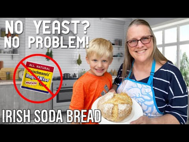 Irish Soda Bread Recipe || Family Fun Pack Cooking