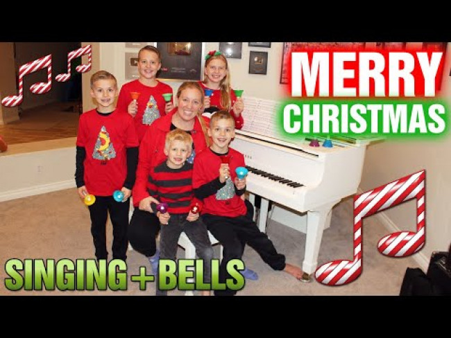 Jingle Bells Remix - Handbells, Piano & Singing - Family Fun Pack Christmas Song