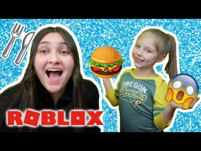 KAIA and SISSY play ROBLOX! Restaurant TYCOON! KIDS GAMING. The TOYTASTIC Sisters. FUNNY KIDS SKIT!