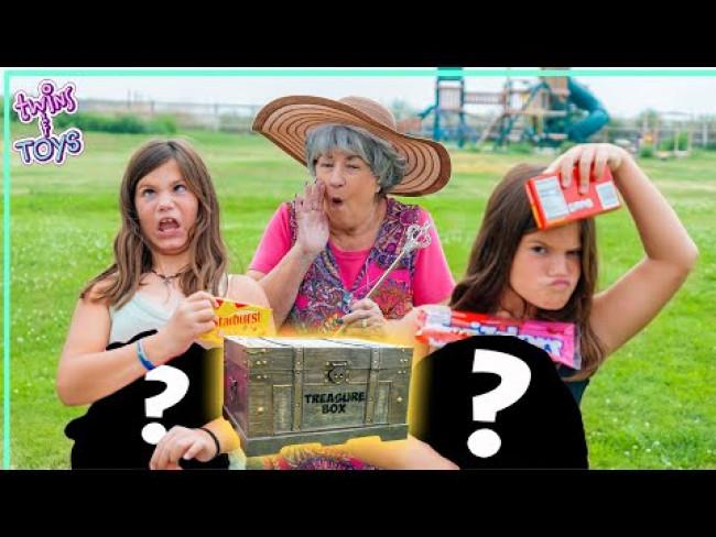 Kate and Lilly go on a MAGIC Treasure Hunt with Wacky Wanda!