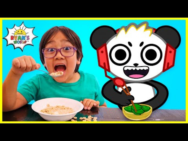 Kids Morning Routine with Ryan and Combo Panda!!!