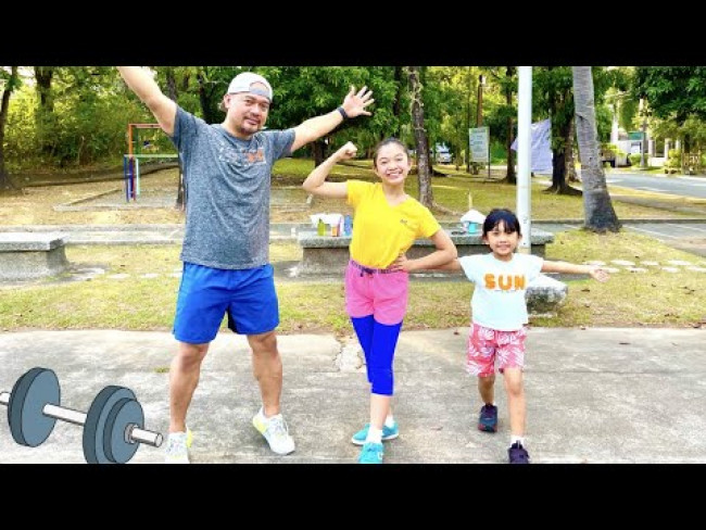 LAST PERSON TO STOP WORKING OUT WINS P20K | KAYCEE & RACHEL in WONDERLAND FAMILY