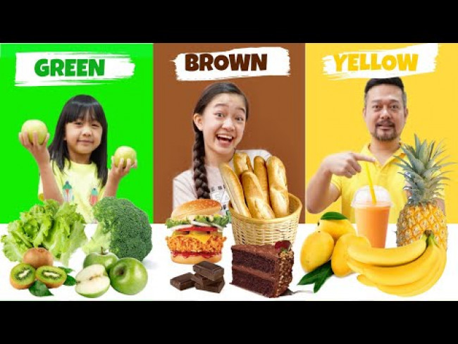 LAST TO STOP EATING THEIR COLOR FOOD WINS 10,000 | Kaycee & Rachel in Wonderland Family