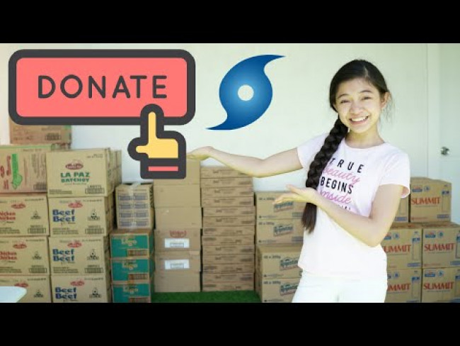 Let's Help Typhoon Victims | KAYCEE & RACHEL in WONDERLAND FAMILY