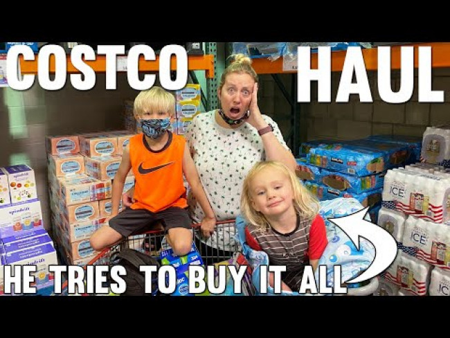 Major Costco Haul - Owen Buys Everything He Sees!!