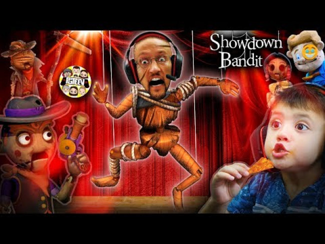 MASTER of PUPPETS!  Scary Puppet Freaks are Freaking me Out! (FGTeeV: Showdown Bandit)