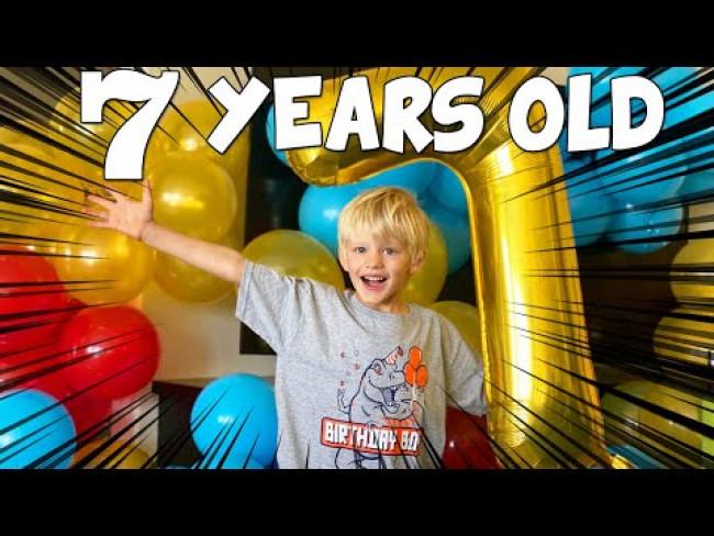 Michael Turns Golden 7 in Quarantine!!