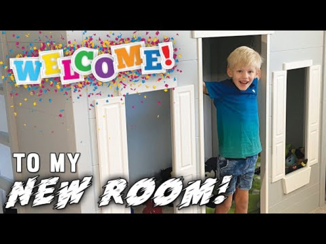 Michael's New Room!