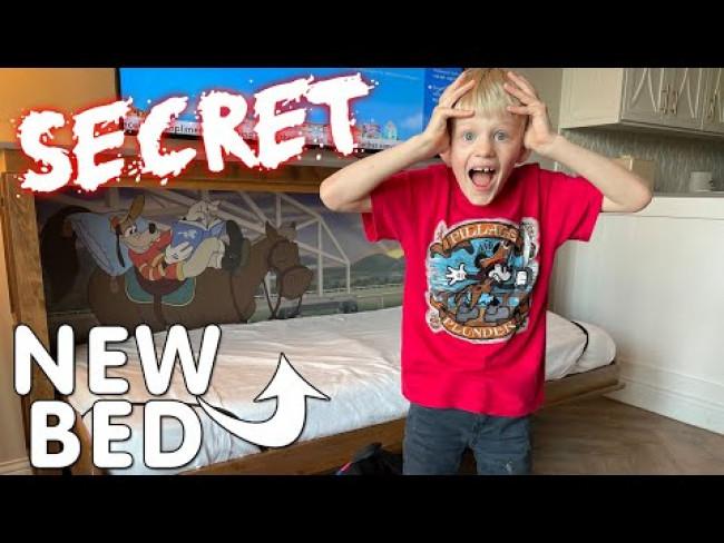 MICHAEL'S SECRET BED ROOM TOUR!!