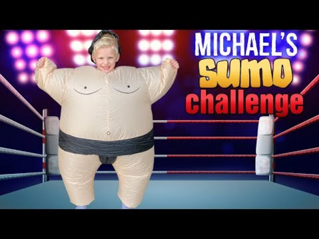 Michael's Sumo Wrestling Challenge || King of the Ring