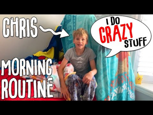Morning Routine with CRAZY Chris!