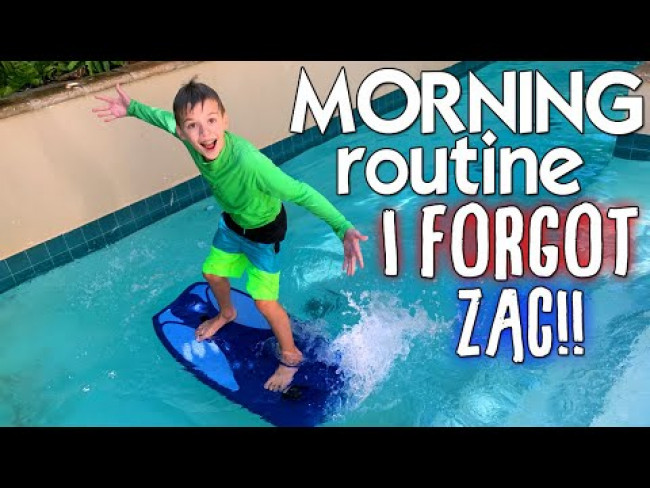 Morning Routine WITHOUT ZAC!