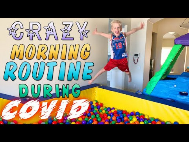 My Crazy Morning Routine!