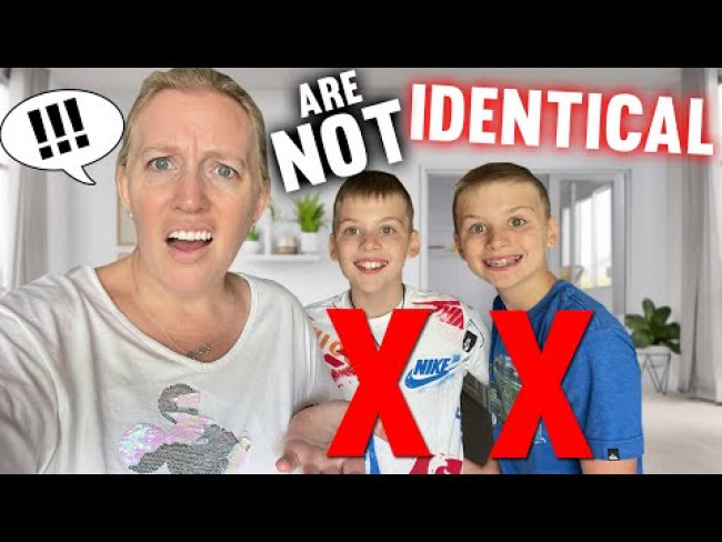 My Identical Twins Aren't Identical!!??