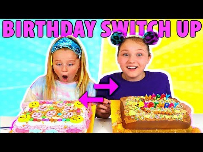 MYSTERY BOX BIRTHDAY CAKE SWITCH UP CHALLENGE!! WINNER GETS $1000