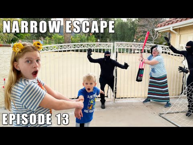 Narrow Escape! The Cursed Babysitter Ep. 13