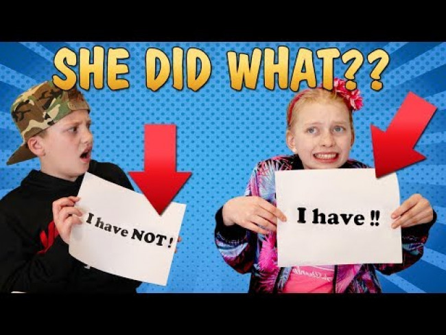 Never Have I Ever......Shocking Secrets Revealed to Parents!!