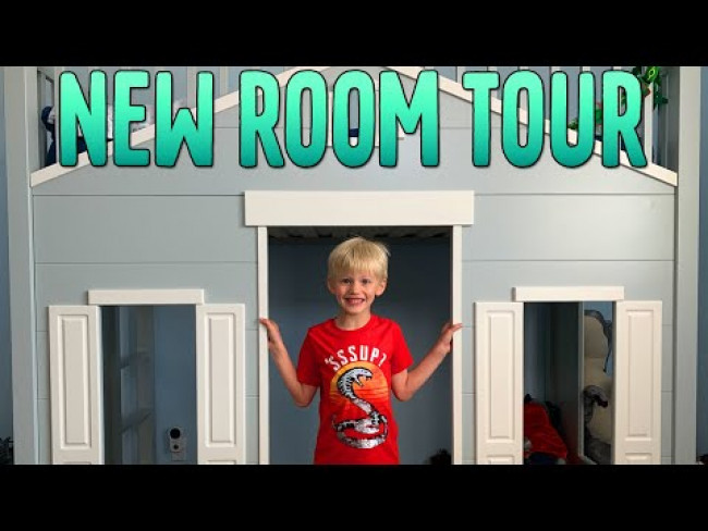 NEW BED! Updated Room Tour!!