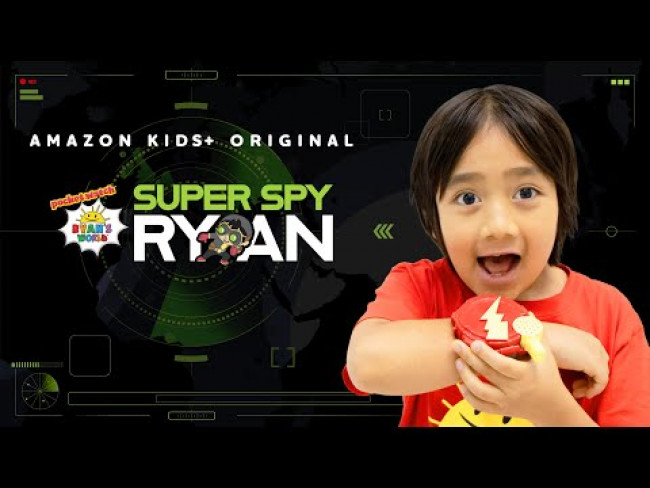 "New Trailer of Ryan's World Original Amazon Kids+ Show, ""Super Spy Ryan"""