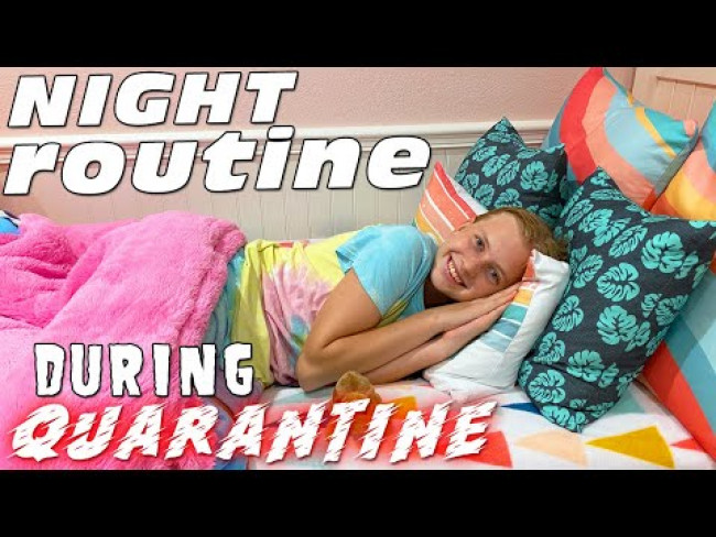 Night Routine on Quarantine - I WILL Eat Cake!