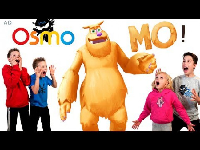 Ninja Kidz Tv meet the Osmo MONSTER!