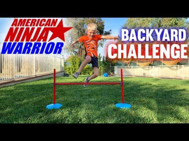 Ninja Warrior Challenge!!
