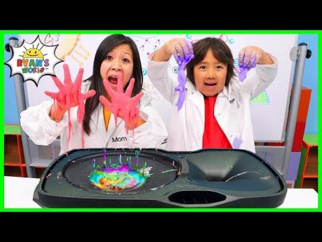 Non-Newtonian Fluid Vibration on Speaker DIY Science Experiment!!