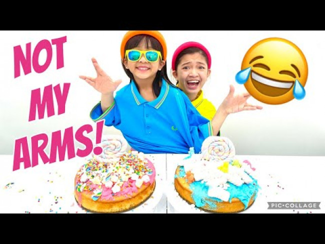 NOT MY ARMS CHALLENGE CAKE EDITION