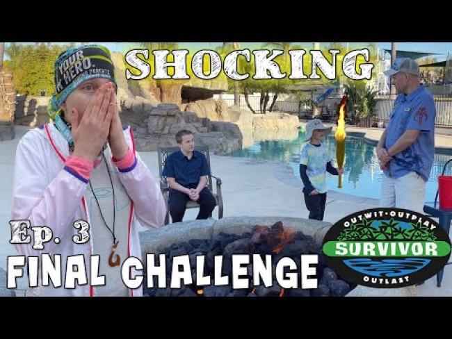Outdoor Survivor Challenge Ep. 3 - Winner Announced!