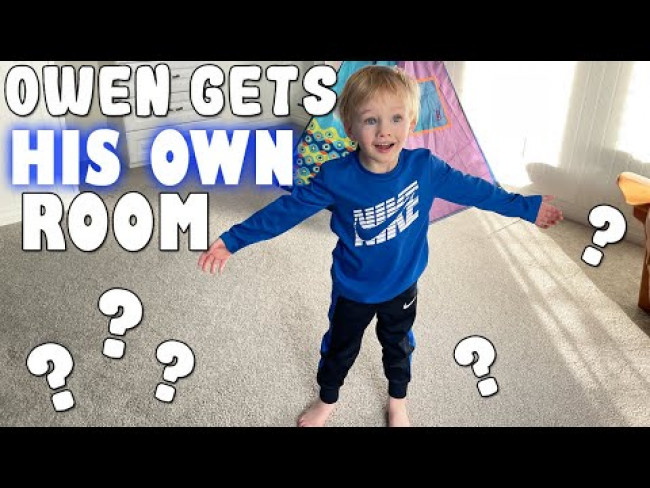 Owen Gets His Own Room!